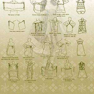 Urban Nomad Dresses - NEW! Lilac Magic Wrap Skirt / Dress